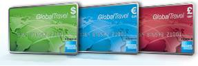 American Express global travel credit cards